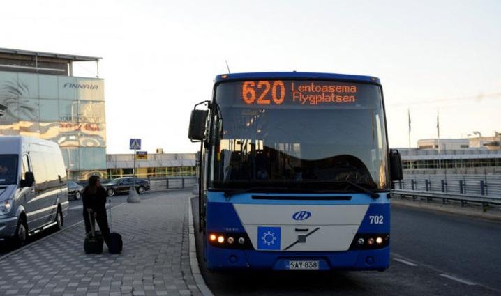Автобус 620 ходит до аэропорта круглосуточно
