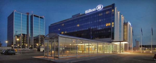 Отель «Хилтон» находится рядом с хельсинским аэропортом