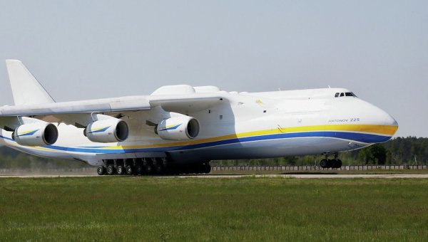 Самый тяжелый самолет в мире