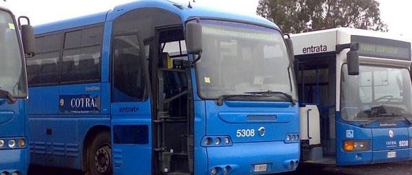 Автобусы готовы доставить туристов из аэропорта Фьюмичино до центра Рима