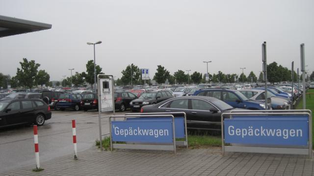 Парковка в Мюнхенском аэропорту