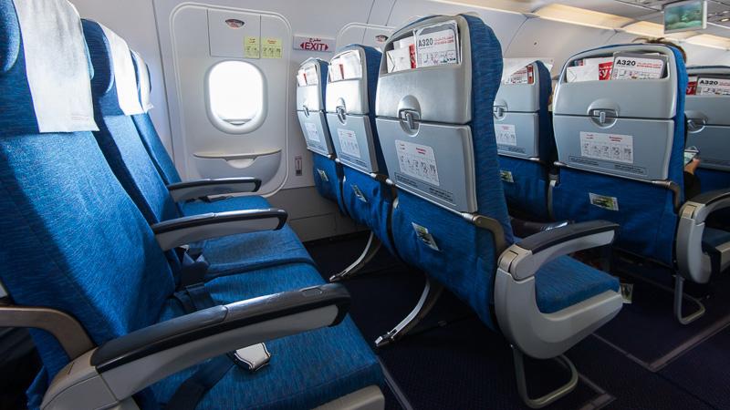 Самый комфортный ряд кресел в аэробусе А-320