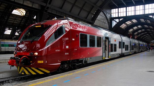 Милан – Мальпенса аэропорт, поезд Malpensa Express в город