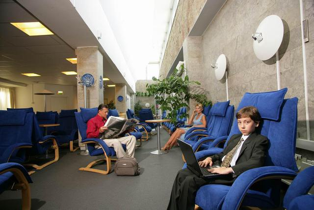 Бизнес-зал санкт-петербургского аэропорта Пулково