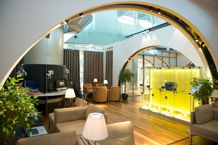 Как выглядит CIP Lounge