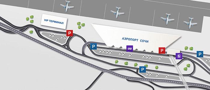 Парковки и остановки общественного транспорта
