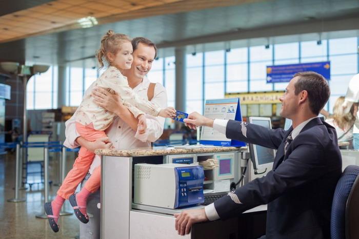 Процедура повышения обслуживания на регистрационной стойке