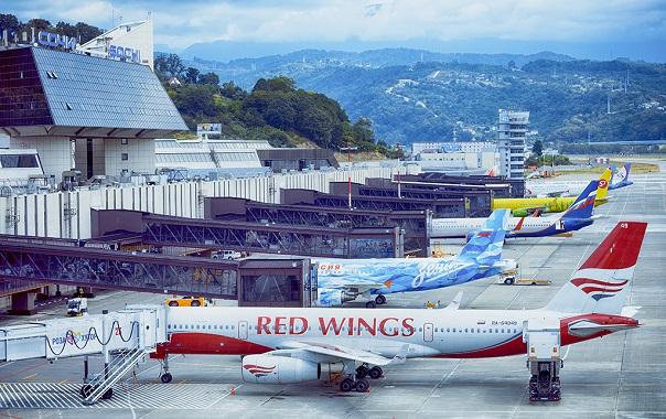 Авиакомпании, летающие в Сочи
