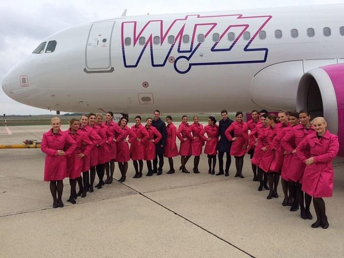 Авиакомпания Wizzair имеет высокие рейтинга в своем секторе обслуживания