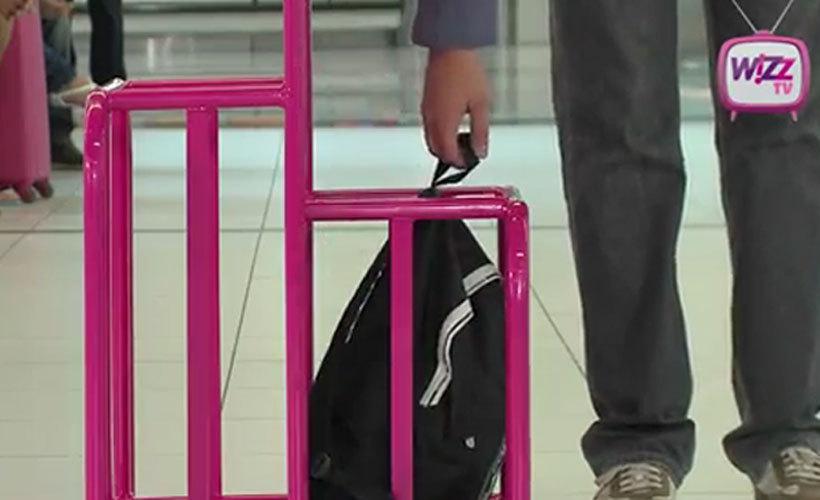 Компания WizzAir имеет вполне щадящие требования к перевозке багажа