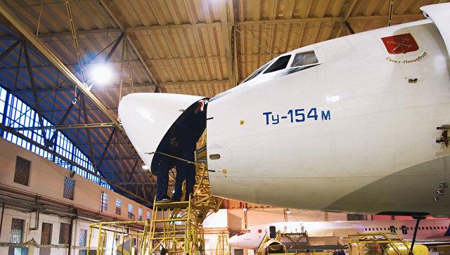 Самолет серии ТУ 154 производился в Самаре на заводе «Авиакор»