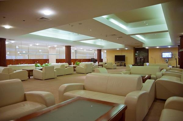 Бизнес-зал в Московском аэропорту