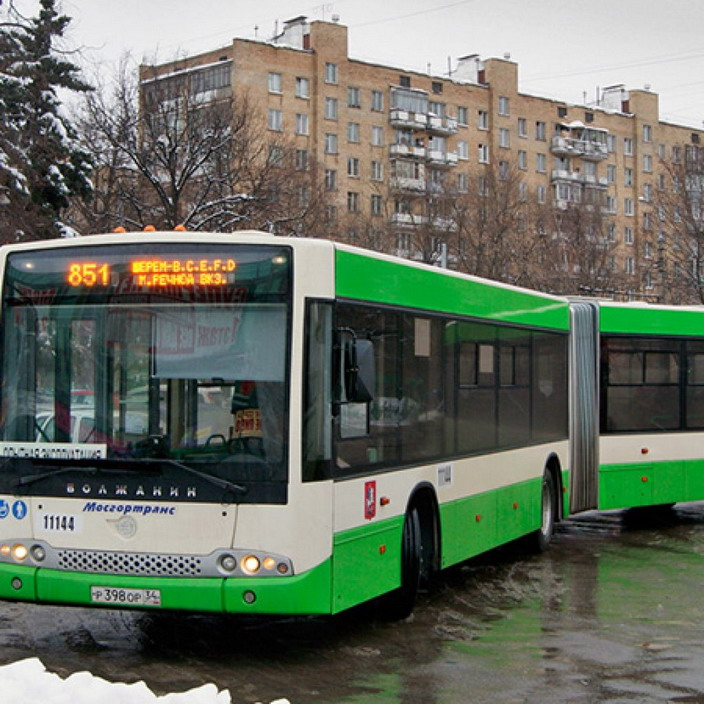 Следующий в Шереметьево автобус №851