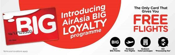 Программа лояльности «BIG» – одна из немногих среди низкобюджетных авиакомпаний