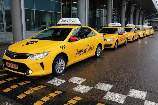 «Яндекс-Такси» заключило официальный договор с Шереметьево