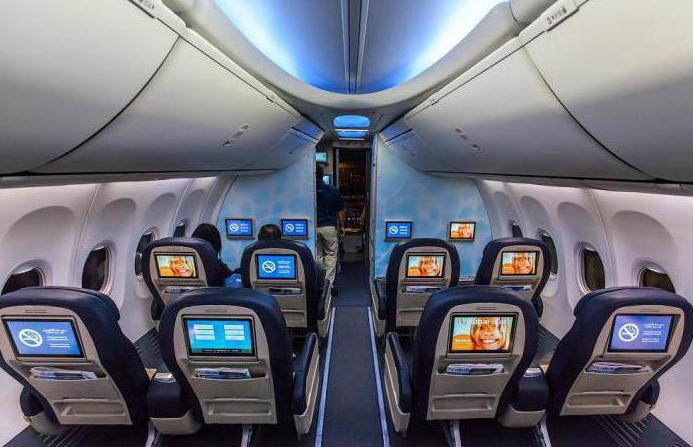 На борту Боинг 737-800 Аэрофлота